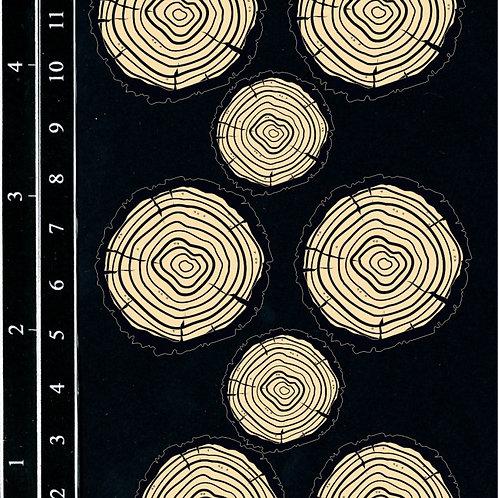 Dusty Attic - Wood Slices
