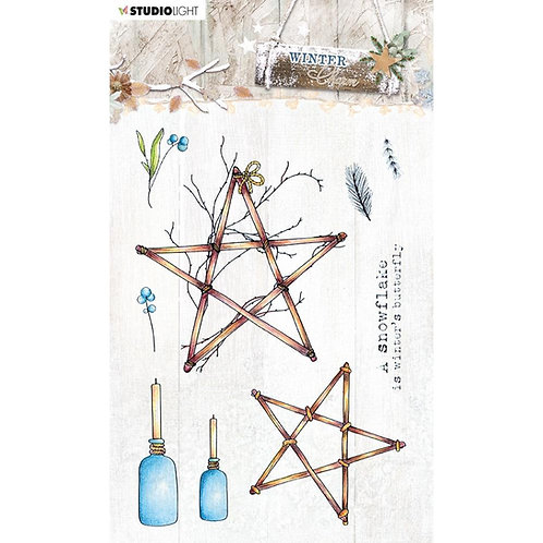 Winter Charm Stamps NR. 491
