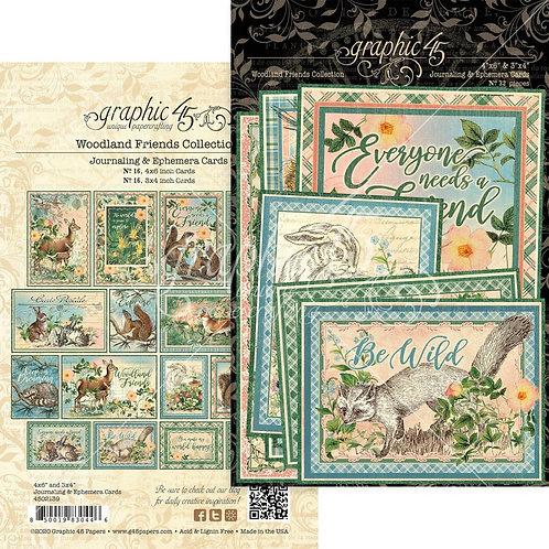 Woodland Journalling Cards
