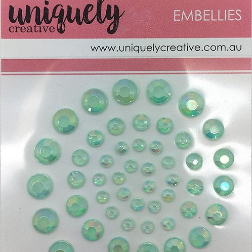 Mint Adhesive Bling
