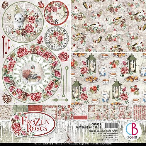 Frozen Roses, 8 Designs/1 Each
