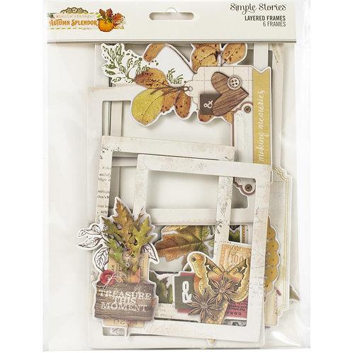 Vintage Autumn Splendor - Layered Frames