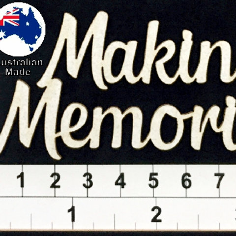 Scrapmatts - Making Memories