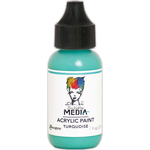 Dina Wakley Media - Turquoise