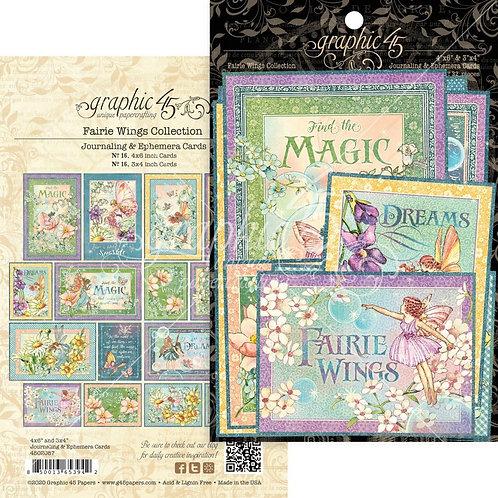 Fairie Wings Journalling Cards