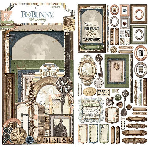 Bo Bunny -  Heritage Noteworthy