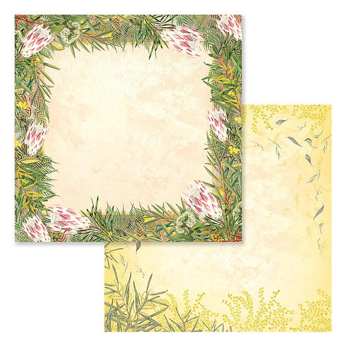 "Sweeping Plains CO727969 12"" double side paper"