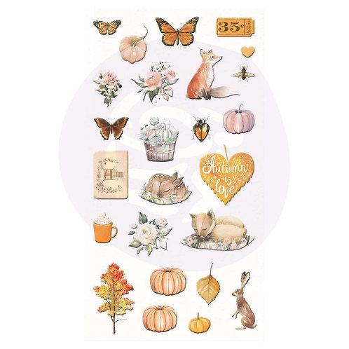 Autumn Sunsett - Puffy Stickers