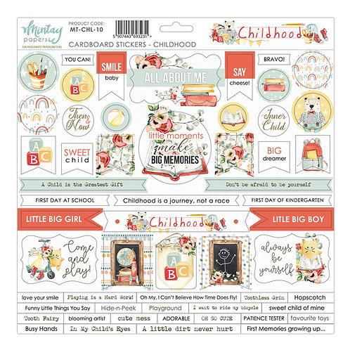 "Childhood 12"" Sticker Sheet"