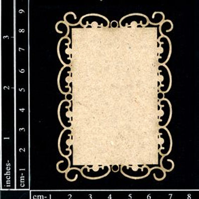 Dusty Attic - ATC Rectangle Frame #2