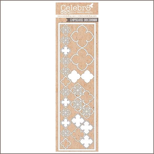Celebr8 - LANKI CARD MESH PATTERN
