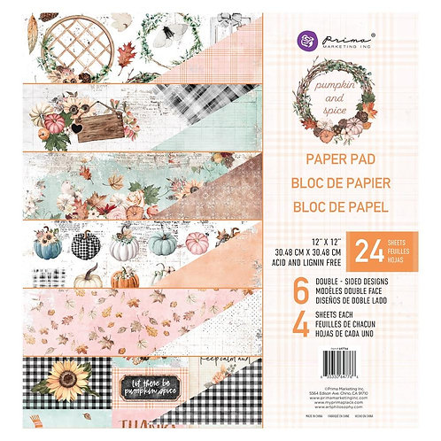 """Pumpkin Spice 6""""Collection pad"""