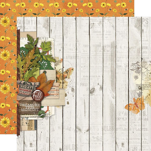Vintage Autumn Splendor -Fall Blessings