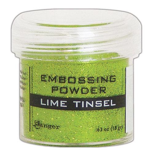 Embossing Powder -  LimeTinsel