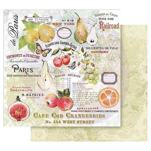 Fruit Paradise - paper set
