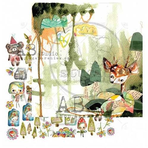 AB Studio - Magic whispers of fairytales sheet 1