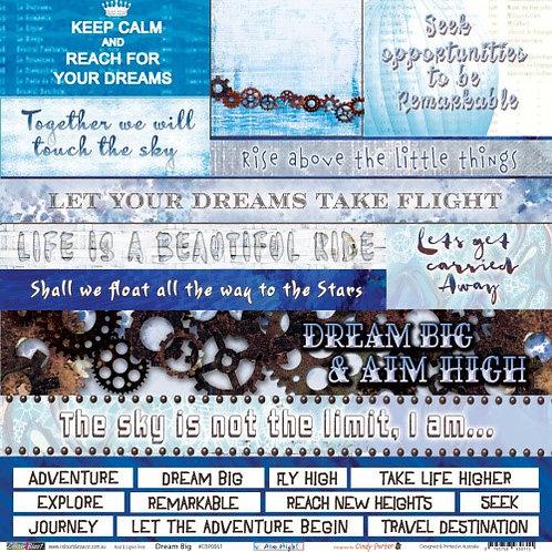 Aim High - Dream Big
