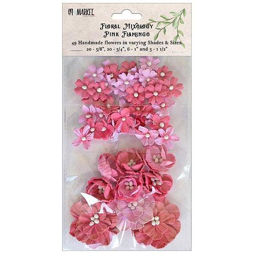 Floral Mixology - Pink Flamingo