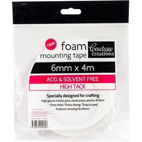 6mm Foam Tape