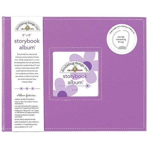 "Lilac 8"" Storybook Album"