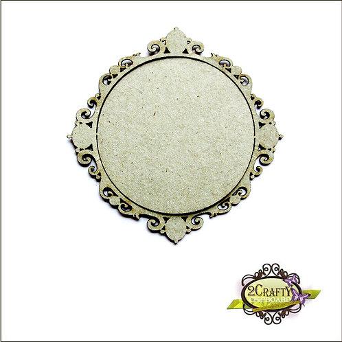 2Crafty - Frame Round Ornate