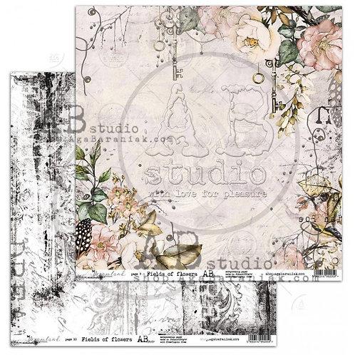 AB Studio - Dreamland Have Fields Of Flowers