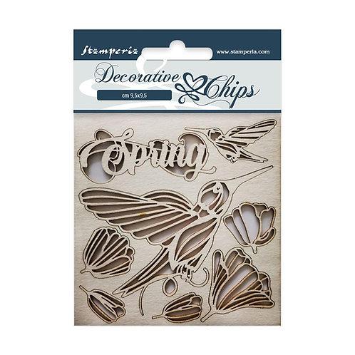 Stamperia - Spring Decorative Chips