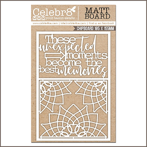 Celebr8 - THESE UNEXPECTED MOMENTS & ELEMENTS