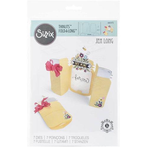 Mason Jar Fold-A-Long Card