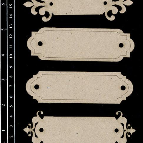 Dusty Attic -Name plates #5