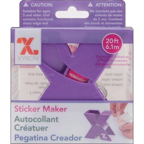 Xyron Sticker maker.