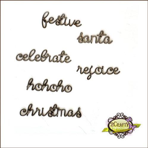 Christmas Mini Words