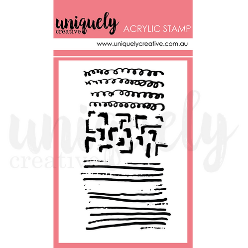 Once Upon A Christmas  - Scribble mini stamp