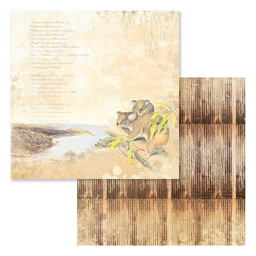 "Sweeping Plains CO727976 12"" double side paper"