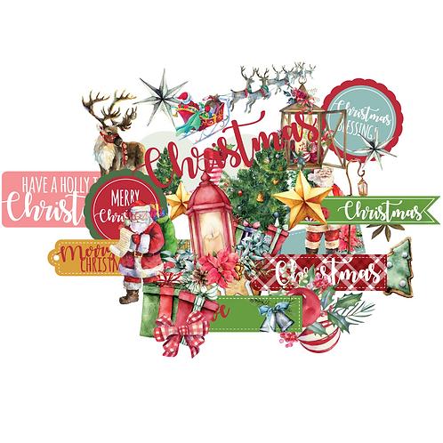 Holly Jolly Christmas  - Creative Cuts
