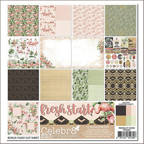Celebr8 - Fresh Start paper pack