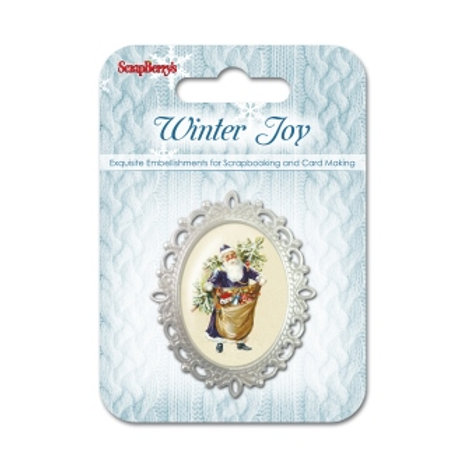 Convex metal frame Winter Joy 1