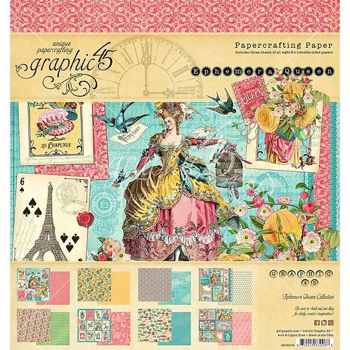 "Ephemera Queen 8"" paper pad"