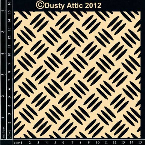 Dusty Attic - Checker Plate