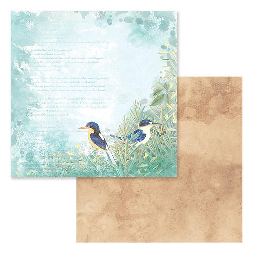 "Sweeping Plains CO727972 12"" double side paper"