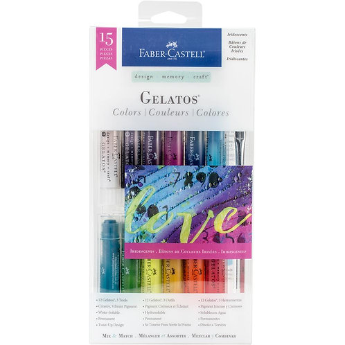 Faber Castell - Gelatos Iridescents