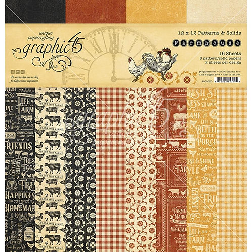 Farmhouse coordinating collection pack
