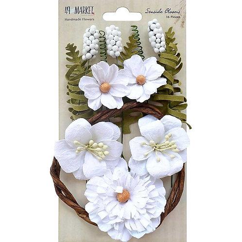 Seaside Blooms - Cotton