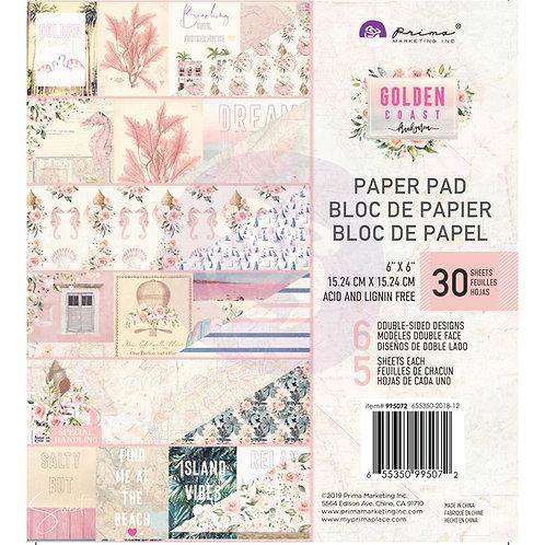 """Golden Coast paper pad 8"""""""