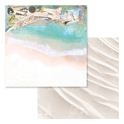 "Sweeping Plains CO727974 12"" double side paper"