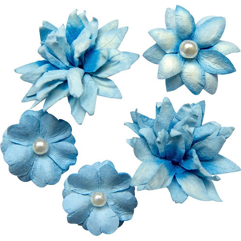 Flower Mini Series 01 – Indigo