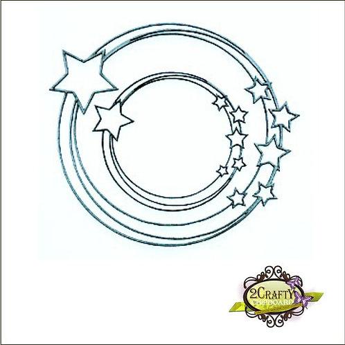2Crafty - Star Circular Frames