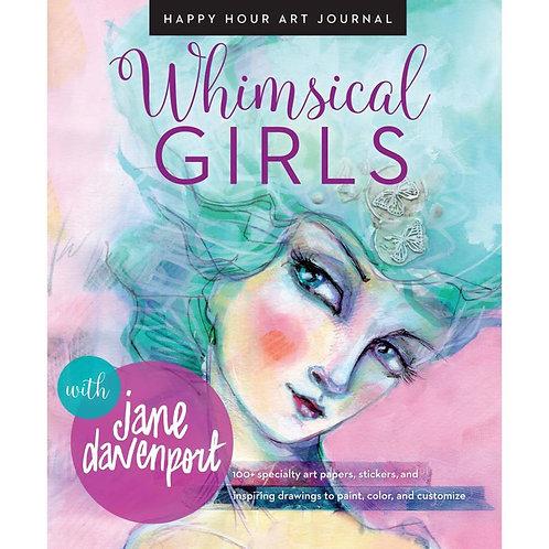 Mixed Media Whimsical Girls Book
