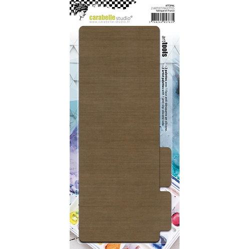 Carabelle Studio Non-Stick Craft Palettes 2/Pkg