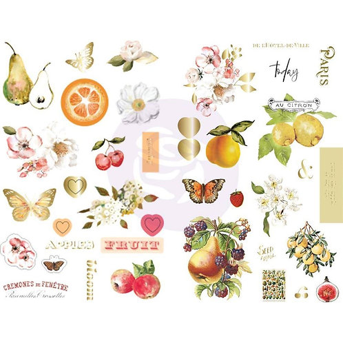 Fruit Paradise - Chipboard Stickers